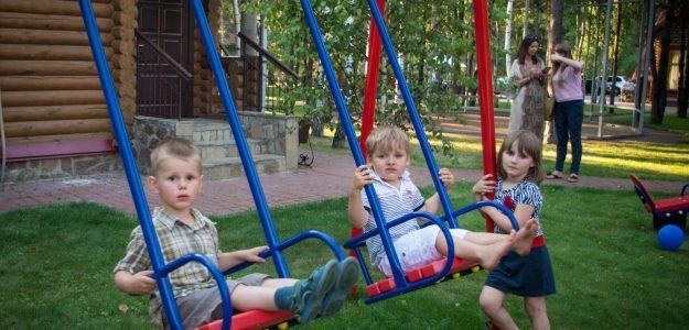 Отдых под Киевом с детьми